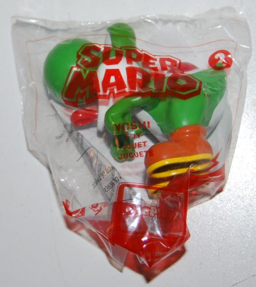 Happy meal toy super mario 1x