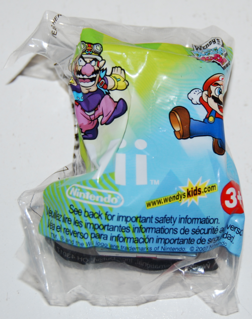 Wendy's kids meal wii toys x