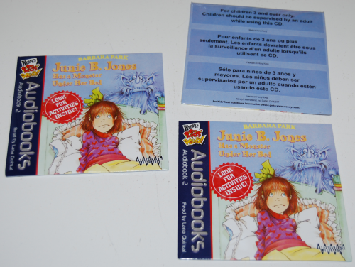 Wendy's kids meal audiobooks cd prizes