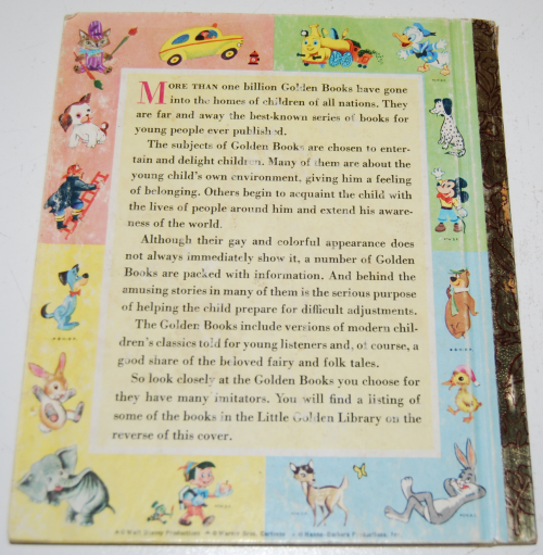 Little golden book picture dictionary x
