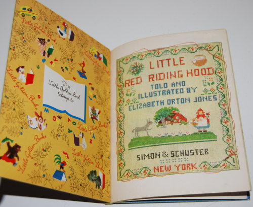 Little golden book little red riding hood 1