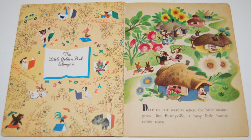 Little golden book disney bunny book 1