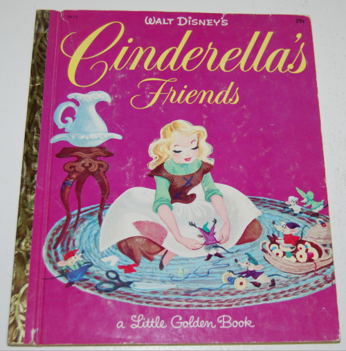 Little golden book cinderella's friends