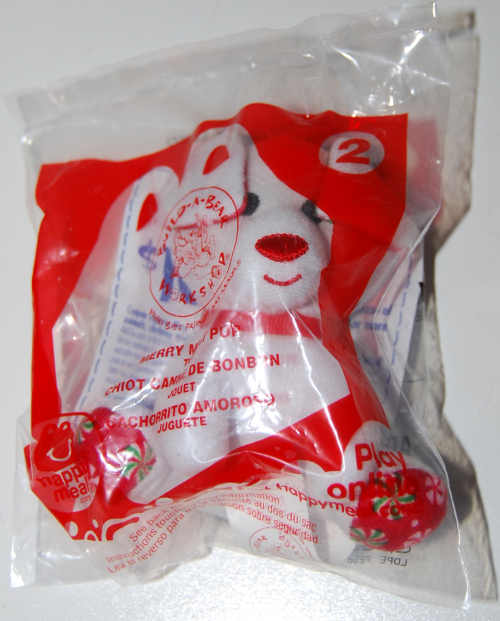 Happy meal toy build a bear 5