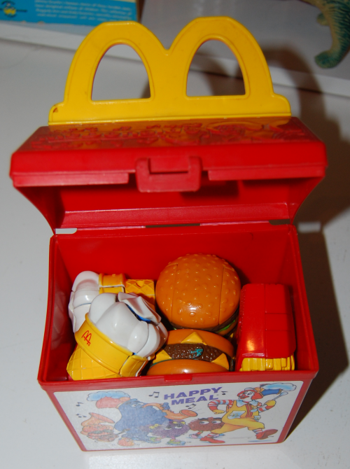 Mcd toy happy meal xx