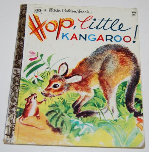 Little golden book hop little kangaroo