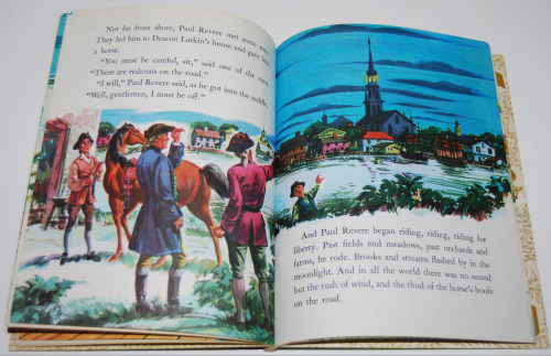 Little golden book disney paul revere 6