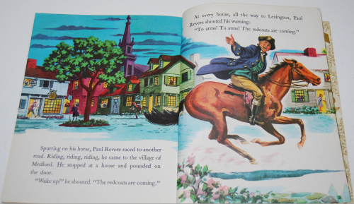 Little golden book disney paul revere 8