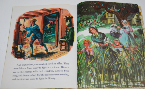 Little golden book disney paul revere 9