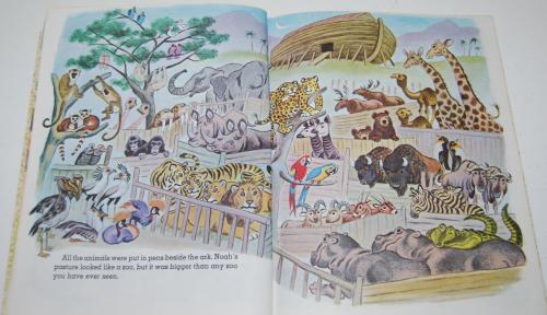 Little golden book noah's ark 4