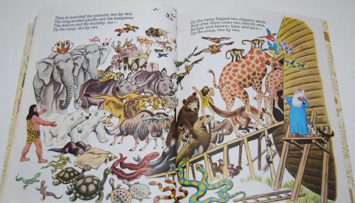 Little golden book noah's ark 5