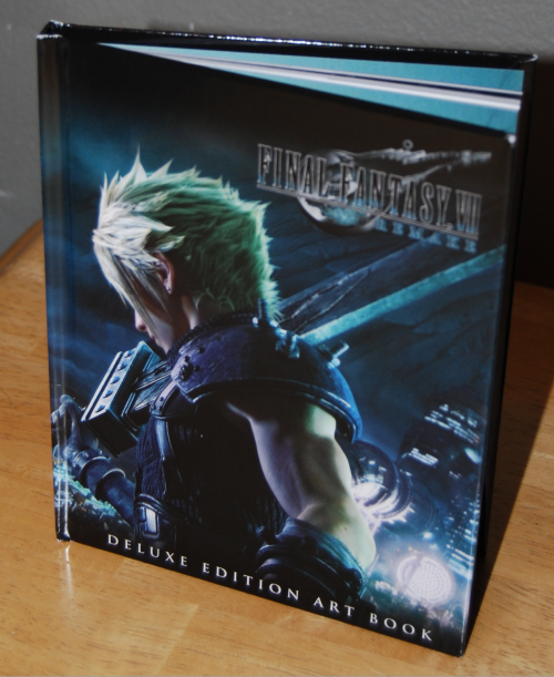 Ff7 remake ps4 artbook