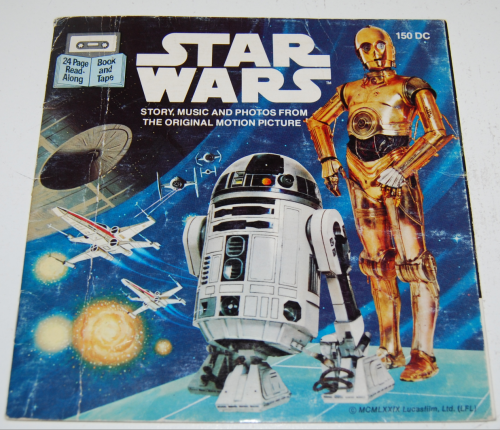 Star wars book & tape 7