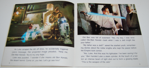 Star wars book & tape 11