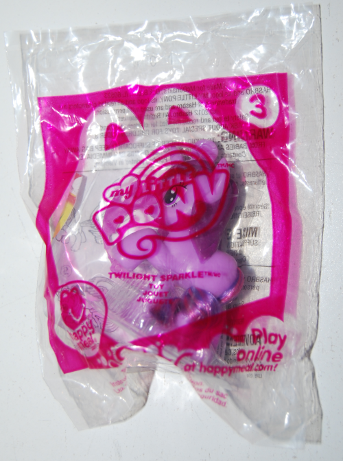Happy meal toy my little pony 4
