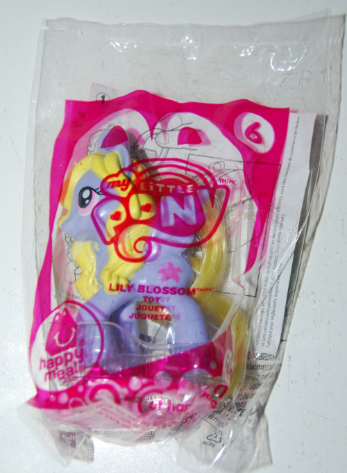 Happy meal toy my little pony 13