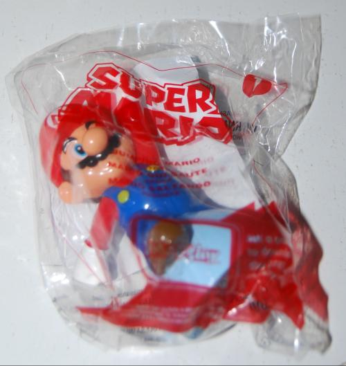 Happy meal toy super mario