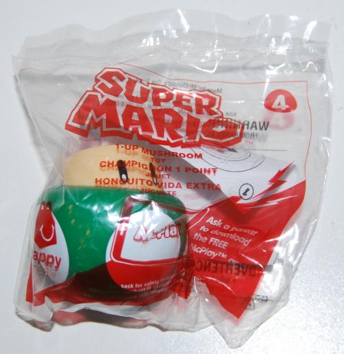 Super mario happy meal toy