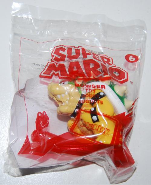 Super mario happy meal toy 1