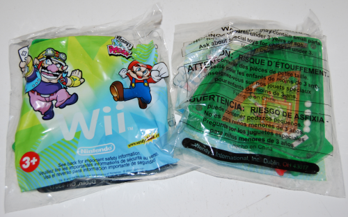 Wendy's kids meal wii prizes