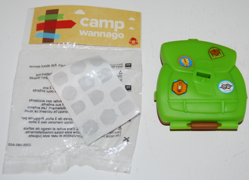 Wendy's kids meal camp wannago toy