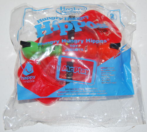 Happy meal toy hasbro hippos