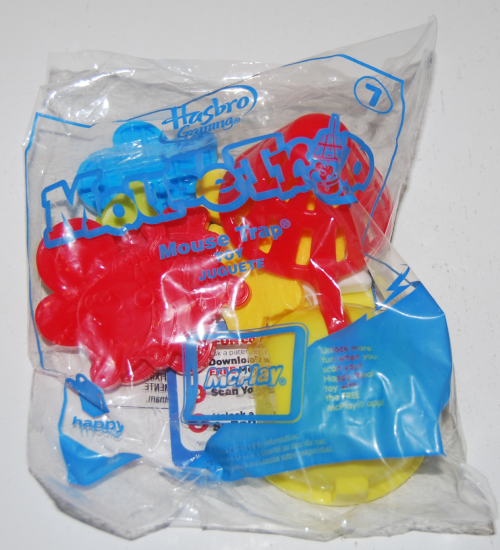 Happy meal toy hasbro mousetrap