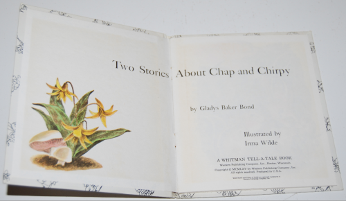 Chap & chirpy 1