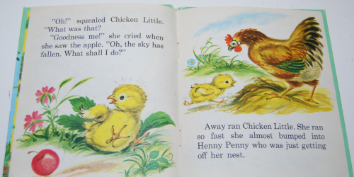 Whitman chicken little 3