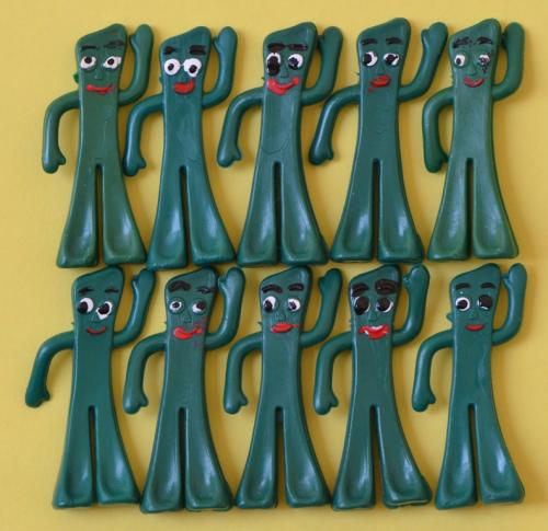Tiny weird gumbys