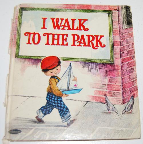 I walk to the park
