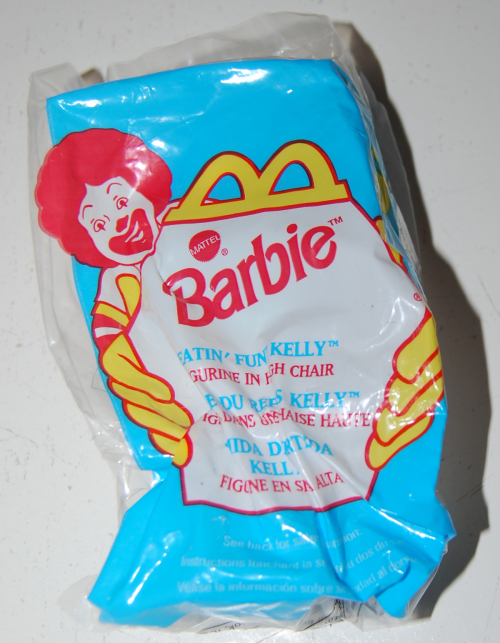 Happy meal toy barbie 11