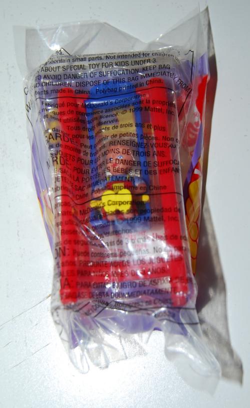 Happy meal toy barbie 17x
