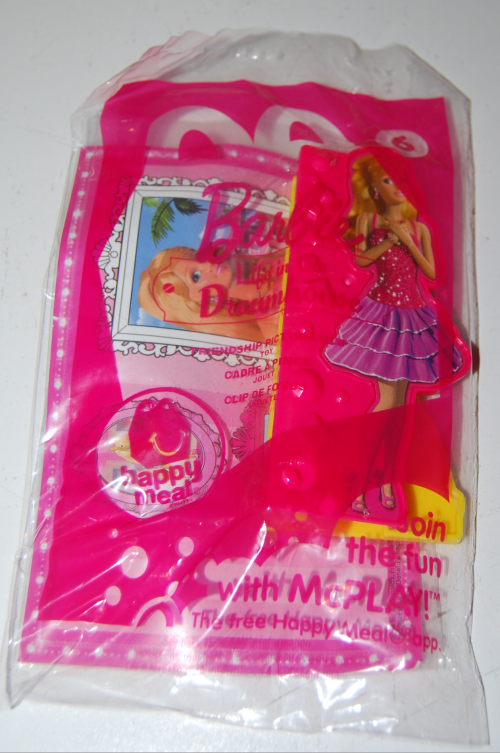 Happy meal toy barbie 23