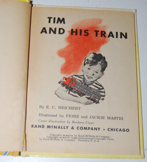 Tim & his train book 2