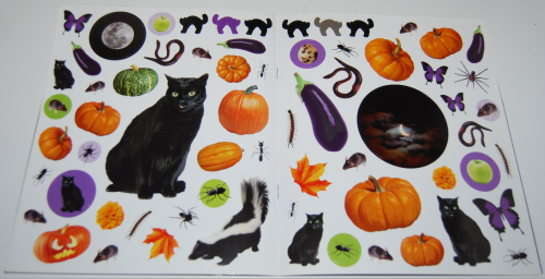 400 halloween stickers book 4