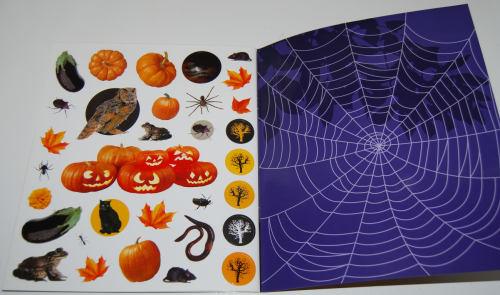 400 halloween stickers book 7