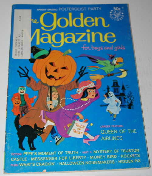 Golden magazine october 1968