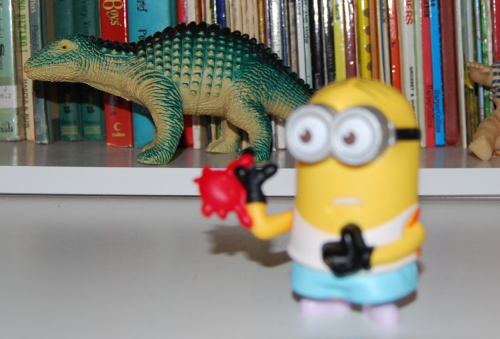 Happy meal toy minions 3