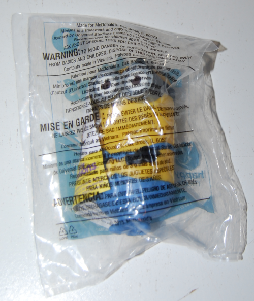 Happy meal toy minions x