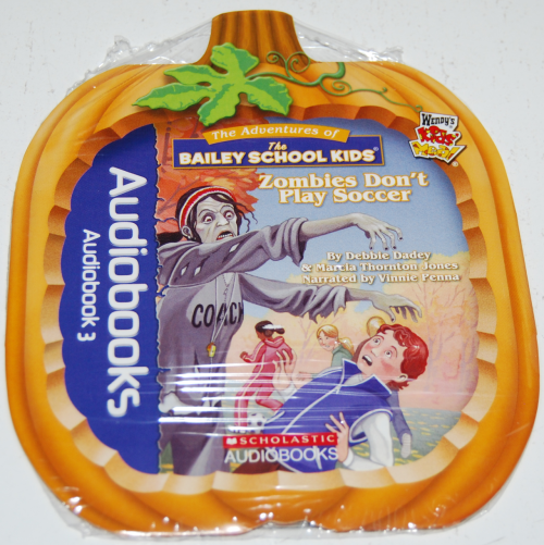 Wendy's kids meal audiobooks cd