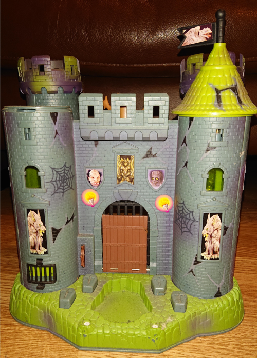Toy haunted castle vintage playset 2