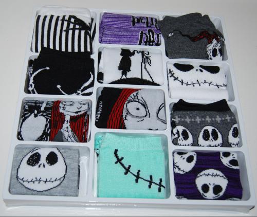 Nightmare before christmas 12 days of socks 3