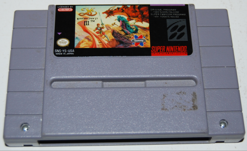 Snes wanderers from ys