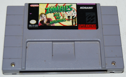 Snes zombies ate my neighbors