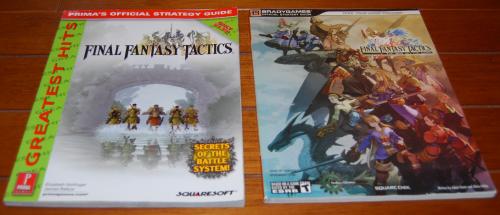 Final fantasy tactics guides