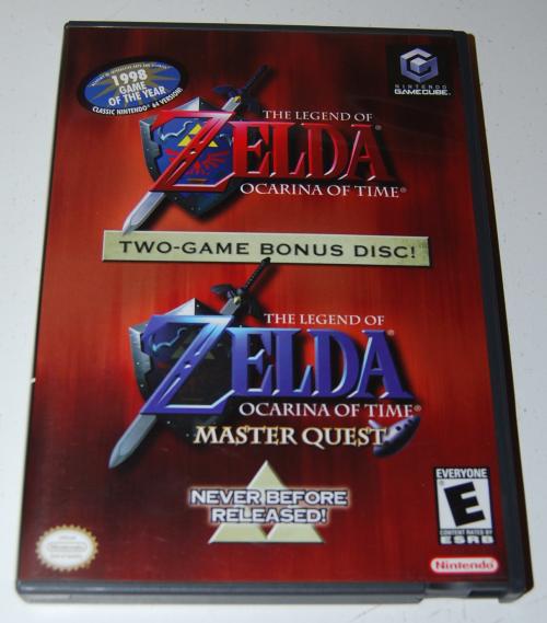 Nintendo gamecube zelda ocarina of time