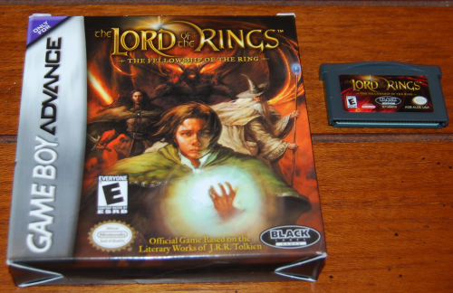 Lord of the rings gameboy