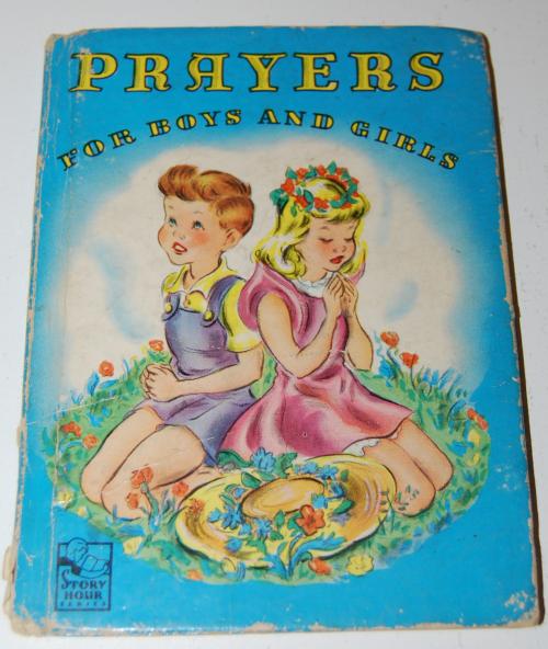 Prayers story hour book vintage
