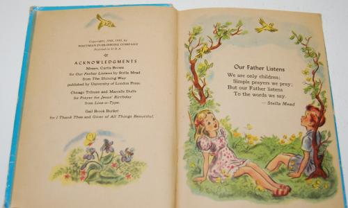 Prayers story hour book vintage 2